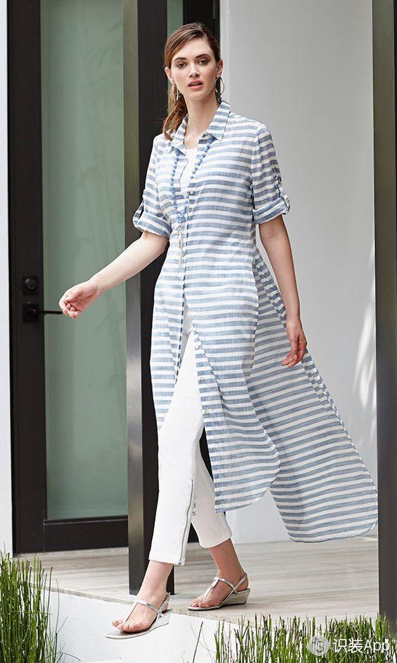抵御秋老虎 还是一件衬衫裙来得实在又时髦