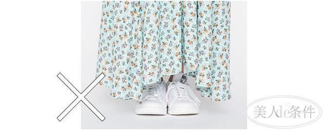 只要衣服搭配得对,视觉增高10厘米!