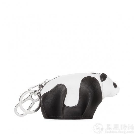 实测LOEWE熊猫包 呆萌包身杨幂宋茜都爱