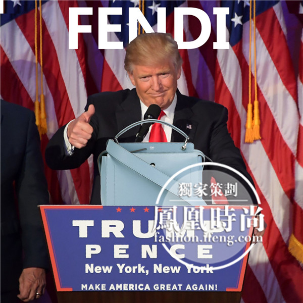 2016年9大最火包包票选 年度最实用手袋Fendi Dotcom