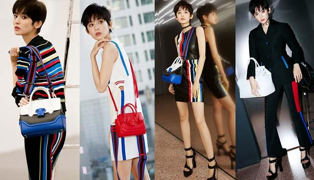 Versace & Me丨娜扎演绎Versace 2017早春女装
