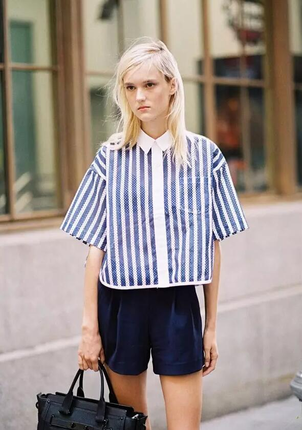 没有一件蓝白条纹,怎么好意思叫衬衫控