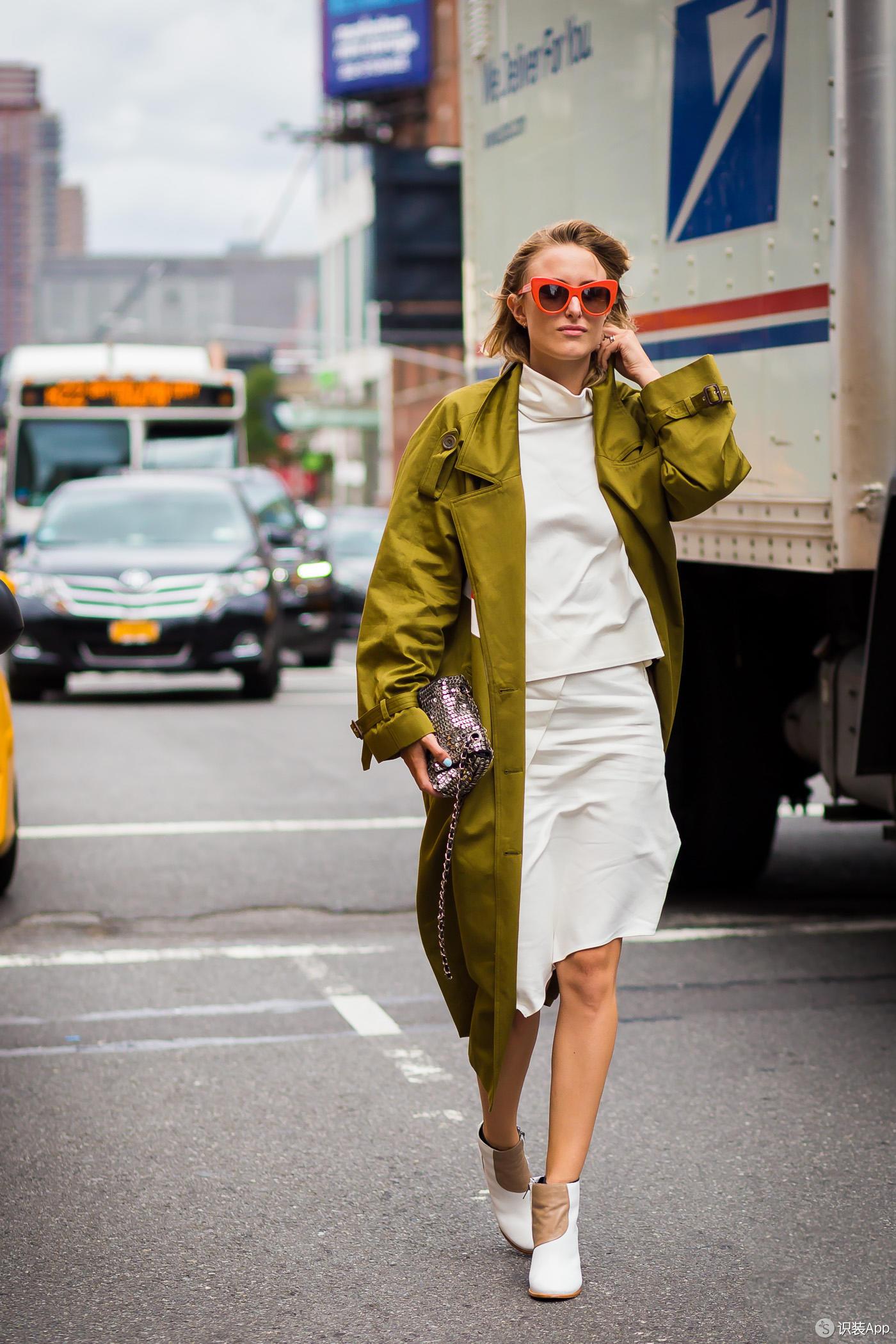 30套专属春天的风衣穿搭 一整月天天换都不重样