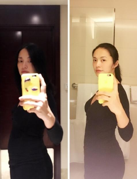 朱丹、孙怡怀孕四肢仍纤细,她们是怎么做到怀孕只胖肚子的?