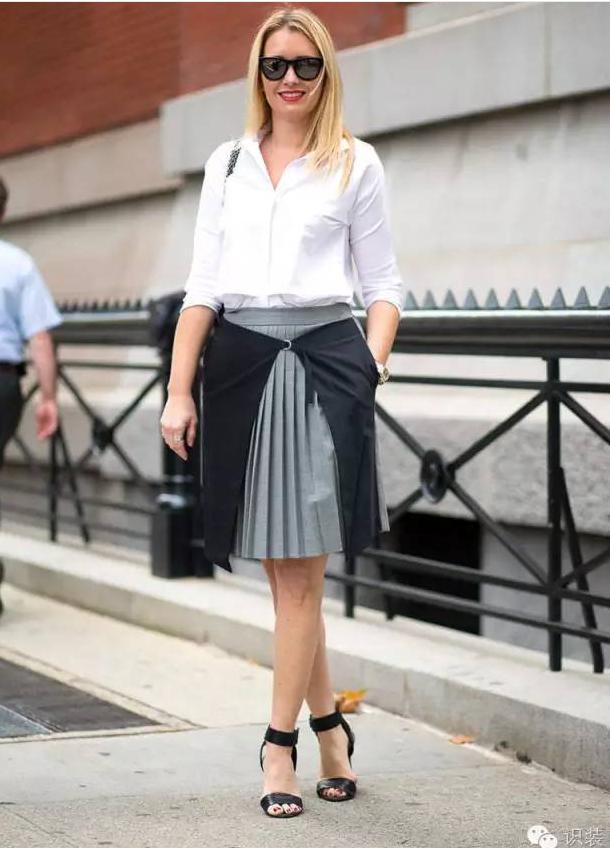 这条裙子专治老气、不时髦、颜值低